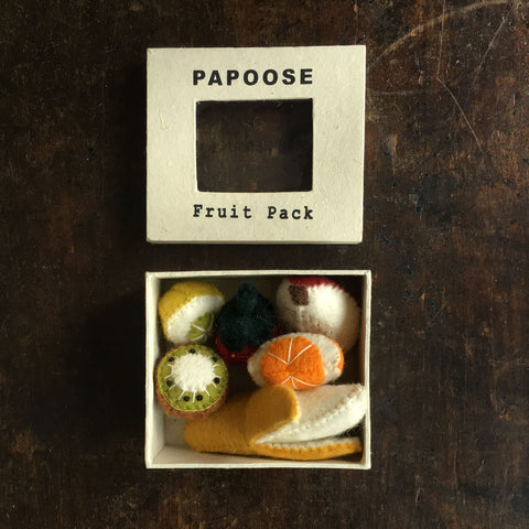 Felted Wool Mini Fruit Set - Boxed