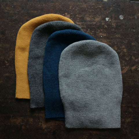 Adult Alpaca Loose Beanie - Many Colours