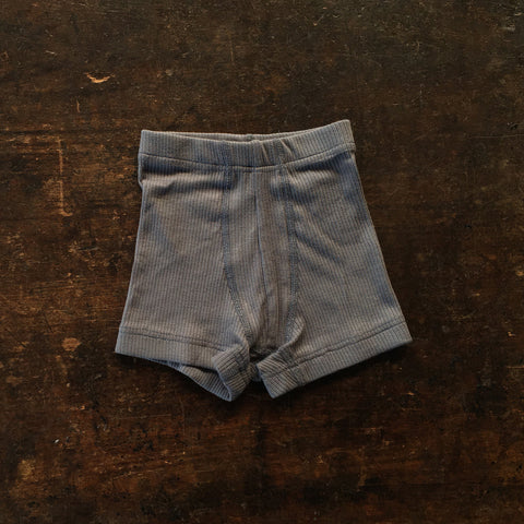 Organic Cotton Boxer Shorts - Graphite - Boys Pants 3-14y