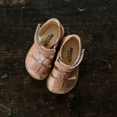 Fisherman Toddler Sandals - Dusty Pink - 20(UK4) - 25(UK8)