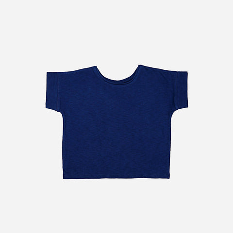 Organic Cotton T-Shirt - Ultramarine - 3-8y