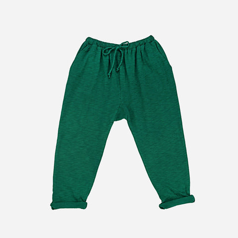Organic Cotton Pants - Tropical Green - 3-8y