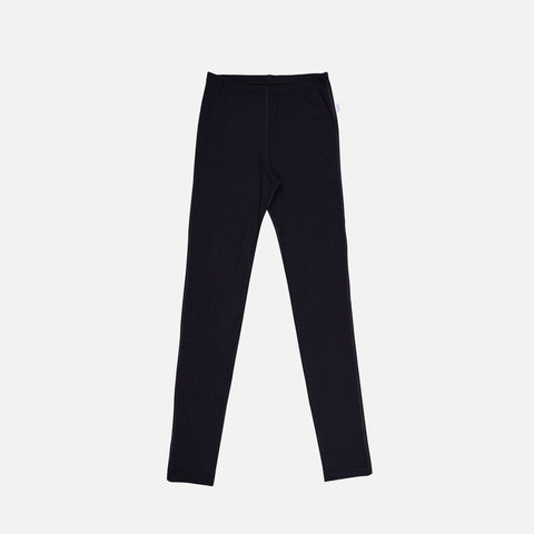 Women's Merino Wool Leggings - Black