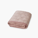Organic cotton Baby quilt - Blush