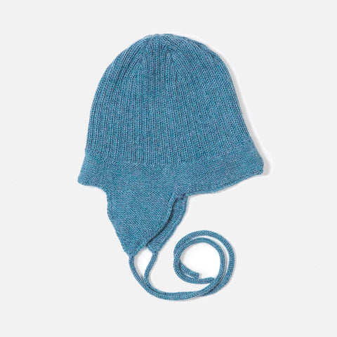 Alpaca Baby Hat - Light Blue - 6m-3y