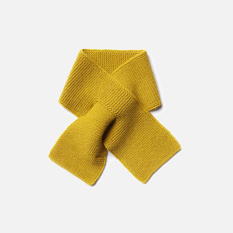 Alpaca Kid Scarf - Yellow
