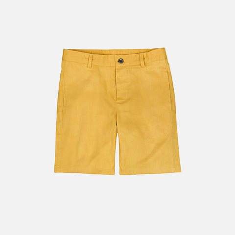 Cotton Leo Shorts - Curry - 4-10y