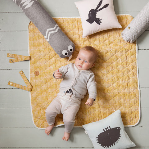Organic Cotton Changing Mat - Rose Stick