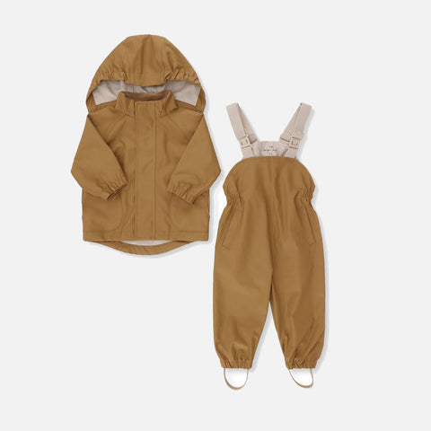 Palme Rainwear Set - Cognac