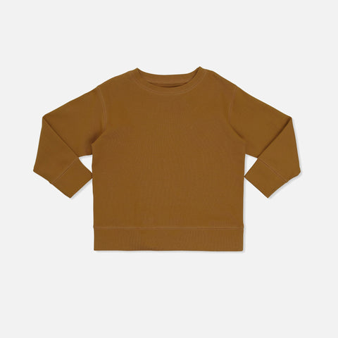 Cotton Ebi Jersey Top - Dark Honey