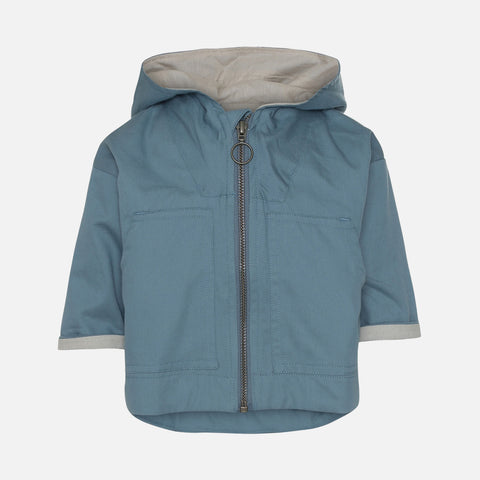 Organic Cotton Bille Jacket - Thunder Blue