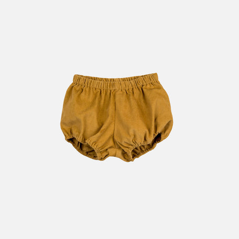 Cotton Poppy Bloomers - Mustard Cord - 1-4y