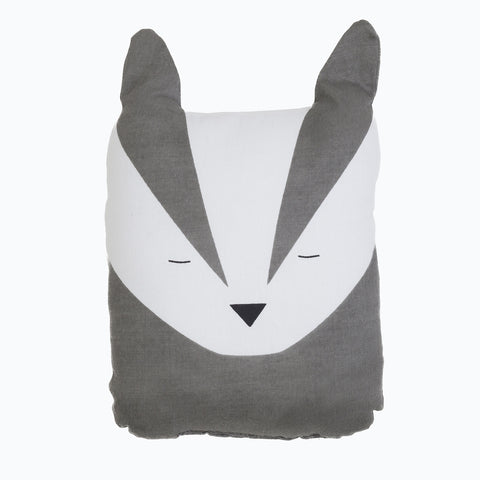 Organic Cotton Animal Friends - Bold Badger