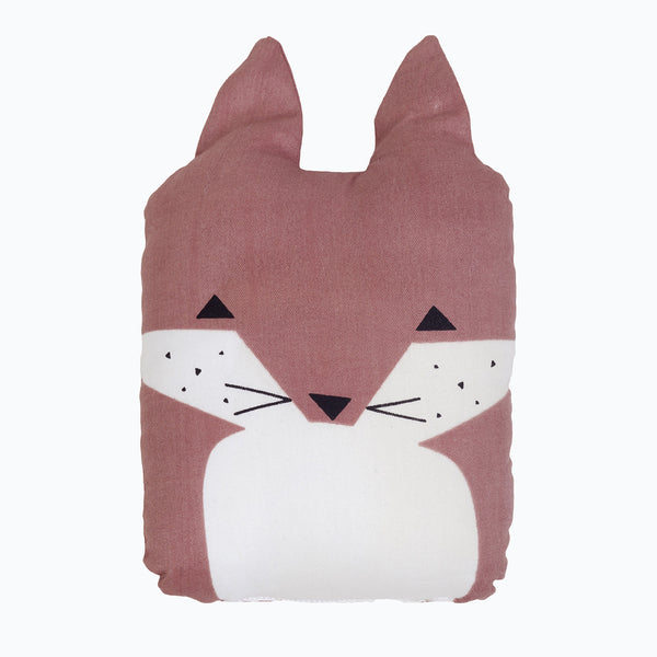 Organic Cotton Animal Friends - Friendly Fox