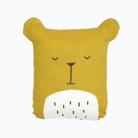 Organic Cotton Animal Friends - Lazy Bear