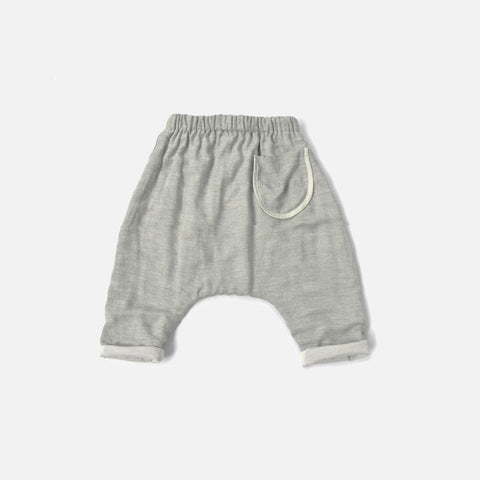 Lire Stripe Pants - Grey Marl - 3-8y