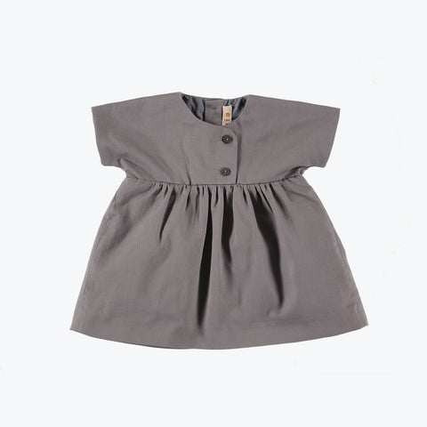 Organic cotton twill - Loli dress - 6m