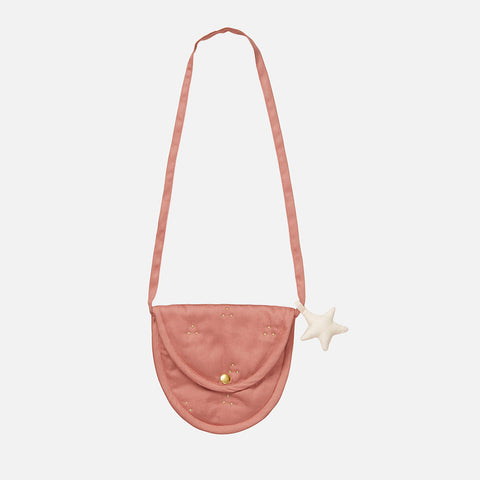 Organic Lua Bag Gold Dot - Blush