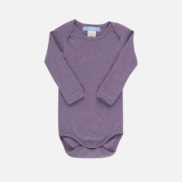 Organic Cotton Baby Body - Opal - 0m-18m
