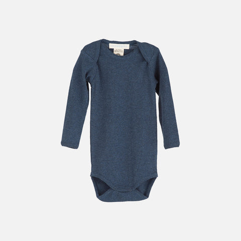 Organic Cotton Baby Body - Midnight - 0m-2y