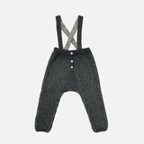Merino Rhesi Miner Pants - Coal/Salt/Pepper - 0-12m