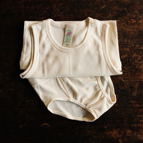 Organic Cotton Undyed Underwear - Boys Pants 2y-8y
