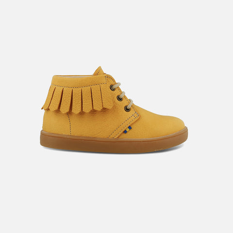 Eco Leather Shoes - Yellow - 24 (UK 7 ) - 30 (UK 12)