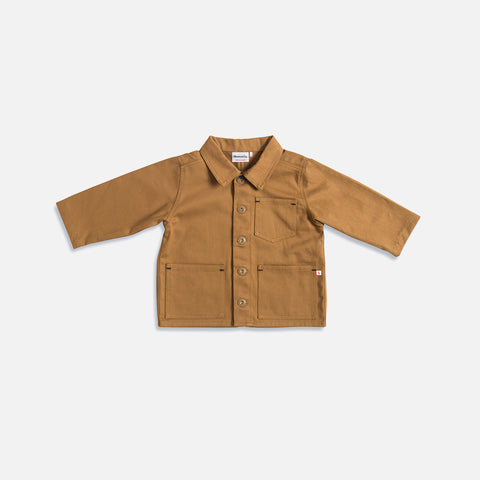 Cotton Foundry Jacket - Tan - 1-10y