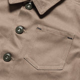 Cotton Foundry Jacket - Khaki