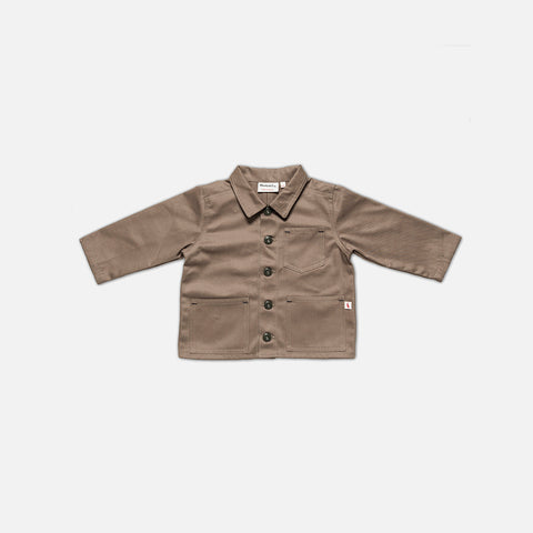 Cotton Foundry Jacket - Khaki - 1-10y