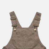 Cotton Porter Dungaree - Khaki