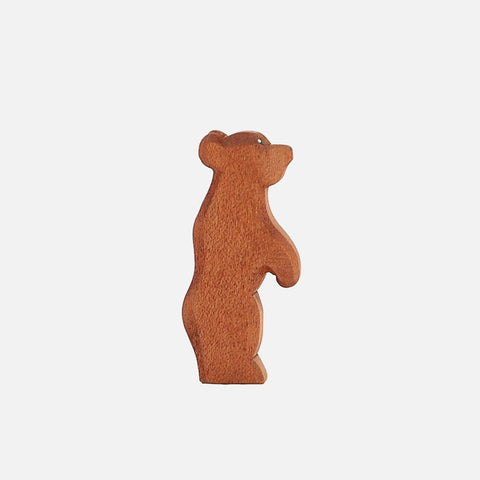 Handcrafted Small Bear Standing