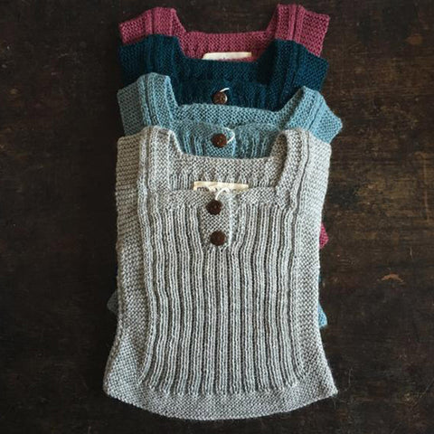 Beautiful Alpaca Rib vest / Body Warmer - Natural