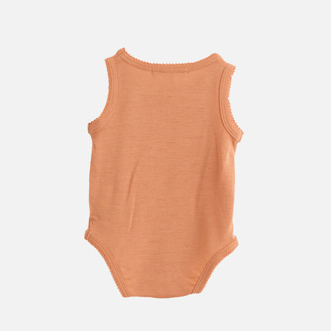 Organic Merino Wool Tank Body - Copper