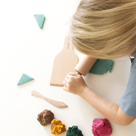 Wooden Tools for Playdough
