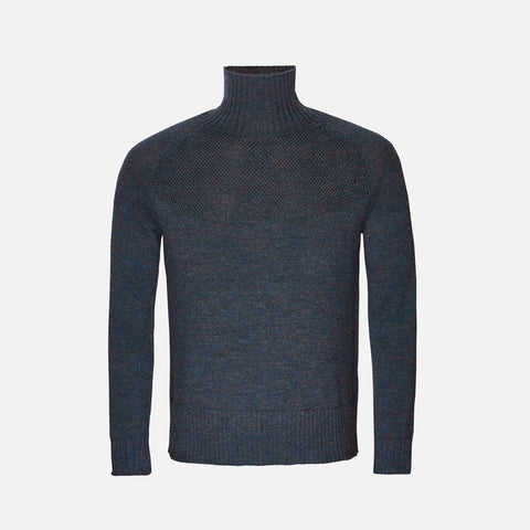 Adult Alpaca/Merino Sailor Sweater - Midnight Blue - S-XL