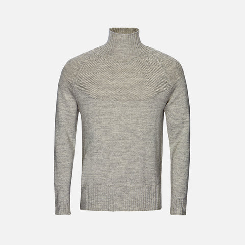 Adult Alpaca/Merino Sailor Sweater - Grey - S-XL