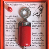 Handmade Wooden Song Bird Call - Red