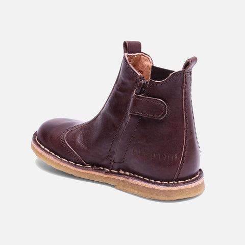 Vegetable Tanned Leather Chelsea Boot - Brown - 24 (UK 7) - 37 (UK 4.5)