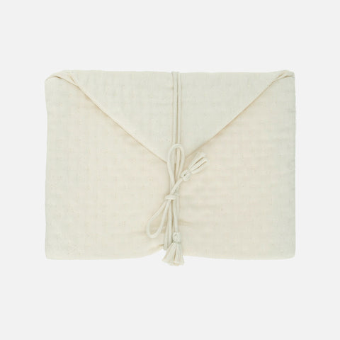 Organic Cotton Nappy Clutch - Raw
