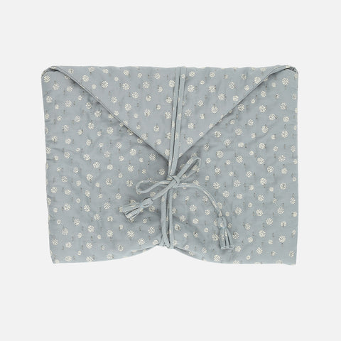 Organic Cotton Nappy Clutch - Air
