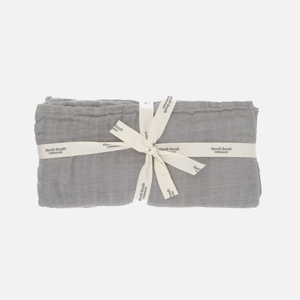 Organic Cotton Muslins - Cloud - 4 Pack