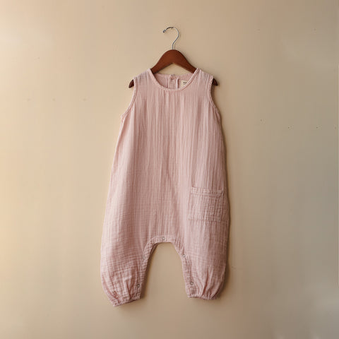 Cotton Baby Jumper Romper - Cotton Candy - 18-24m