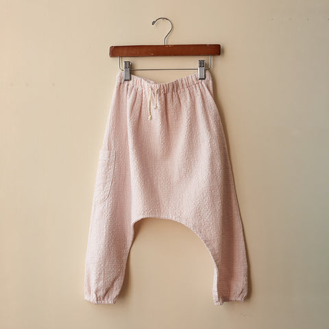 Cotton Liv Harem Pants - Cotton Candy - 4y