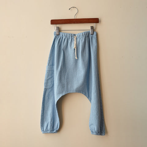 Cotton Liv Harem Pants - Dandelion - 6-8y
