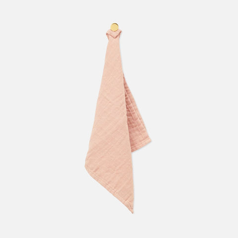 Organic Cotton Muslin Washcloth - Nude & Blush - Pack of 4