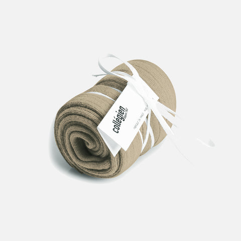 Babies & Kids Cotton Knee Socks - Taupe - 1-12y