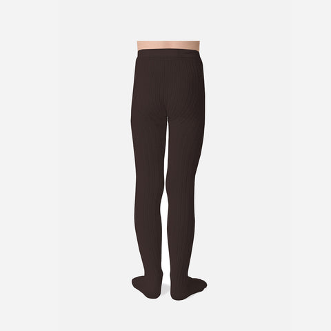 Babies & Kids Rib Tights - Coffee Bean - 0m-10y