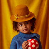 Wool Felted Hat - Candlewick - S-L
