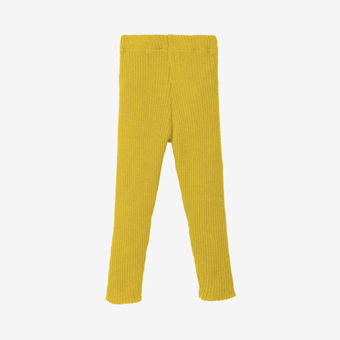 Organic Merino Leggings/Trousers - Curry - 0-10y